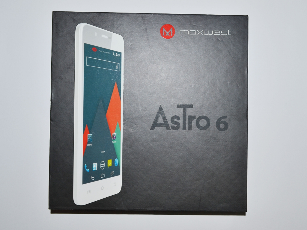 Maxwest AsTro 6 - Недорогой смартфон на 2 сим карты