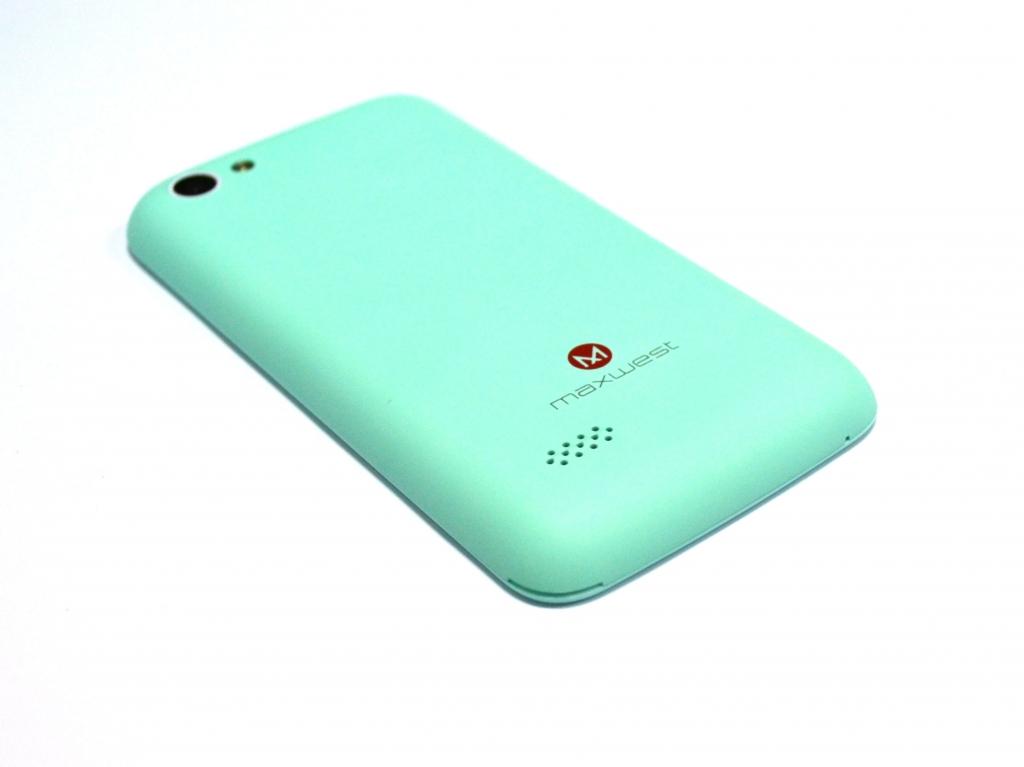Maxwest Nitro 4 Dual Sim 4Gb Blue - Недорогой смартфон для ребенка Maxwest Nitro
