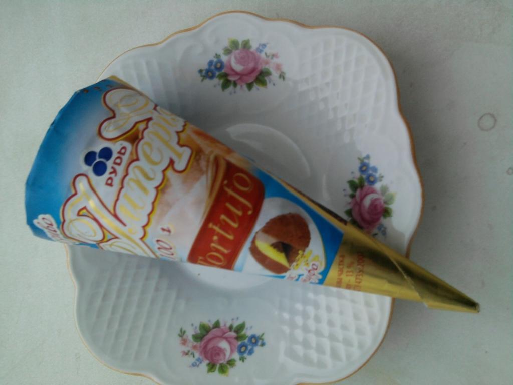 Морожено ТМ Рудь - Мороженое Рудь Империя Тортуфо: жалею, что не попробовала летом