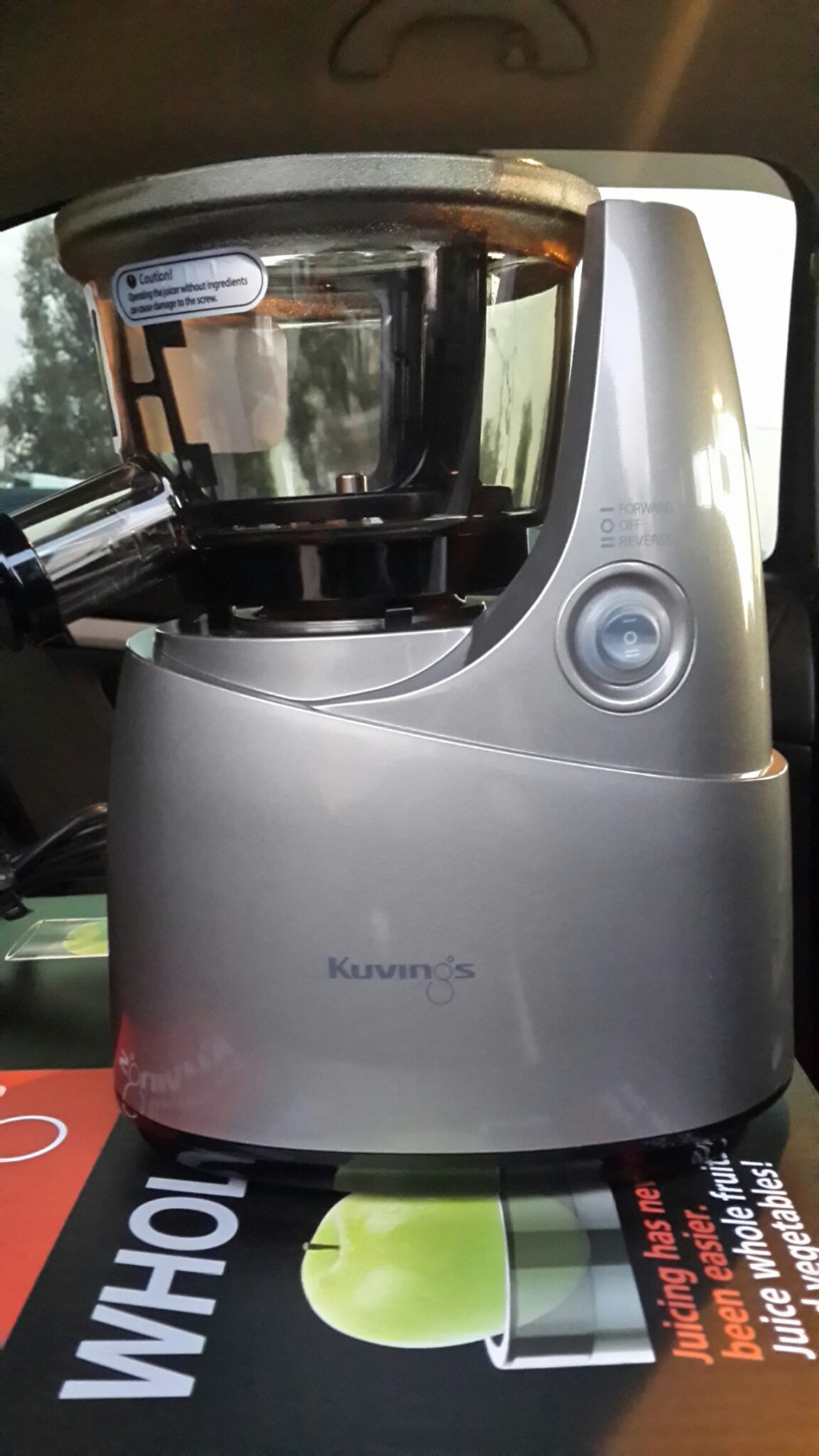 Шнековая соковыжималка Kuvings B6000 - Шнековая соковыжималка Kunings B6000