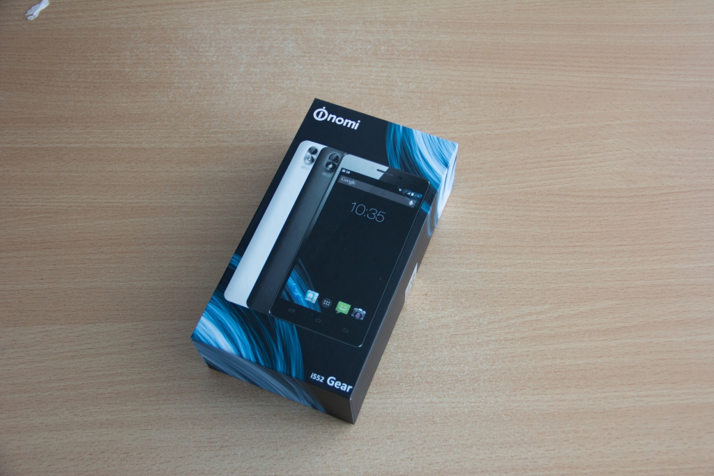 Nomi i552 Gear - Смартфон Nomi i552 краткий отзыв первых дней пользования