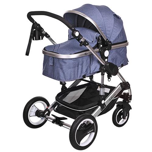 Детская коляска - 535-Q3, универсальная, трансформер, книжка