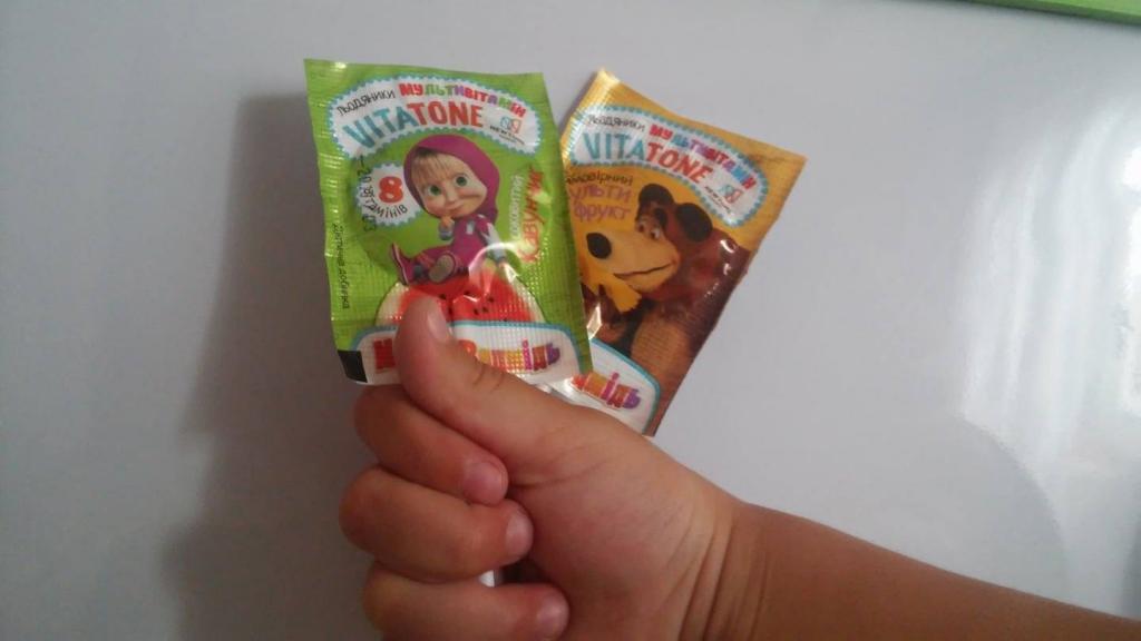 Витамины VitaTone мультивитамин - Отзыв: Мультивитаминные леденцы  леденцы Vitatone - классные витаминки