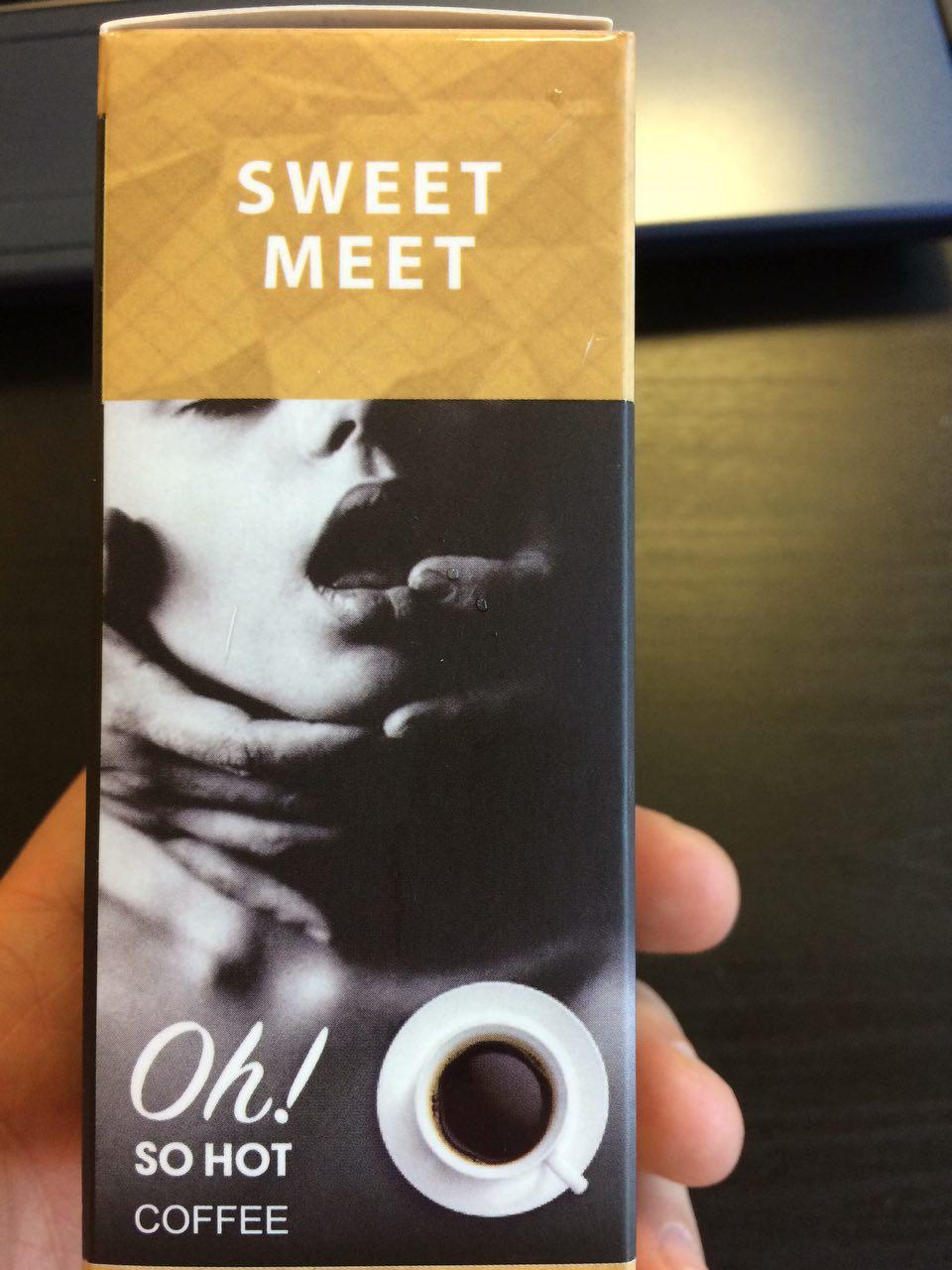 Sweet Meet кофе - Хорошее возбуждающее средство для женщин Sweet Meet с кофе