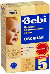 Каша без молока Для детей Овсяная ТМ Bebi