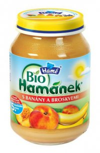 Фруктовое пюре Для детей ТМ BIO Hame Hamanek