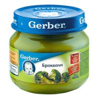 Овощное пюре Для детей ТМ Gerber