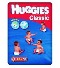 HUGGIES подгузники CLASSIC 3