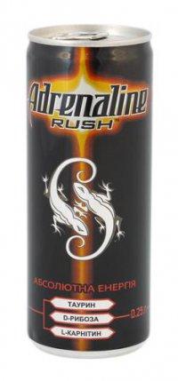 Энергетический напиток ТМ Adrenaline