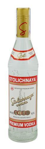 Водка Латвия ТМ Stolichnaya