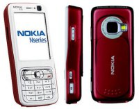 NOKIA N73 Red White