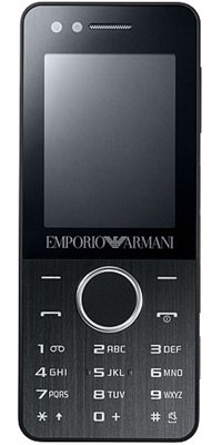 SAMSUNG M7500 Black Armani Night Effect