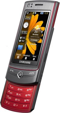 SAMSUNG S8300 Platinum Red Ultra Touch