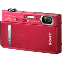 SONY Cyber-shot DSC-T500 Red
