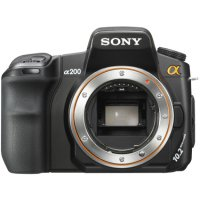 SONY DSLR-A200 Body