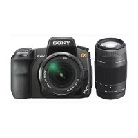 SONY DSLR-A200 Double Kit (18-70 mm + 75-300 mm)
