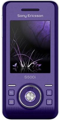 SONY ERICSSON S500i Purple