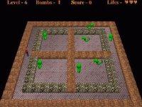 Aliens vs Bomberman (Логические)