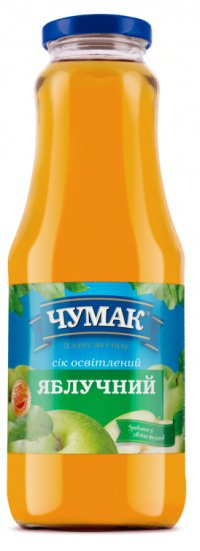 Сок Яблоко ТМ Чумак