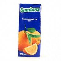 Сок Апельсин ТМ Sandora