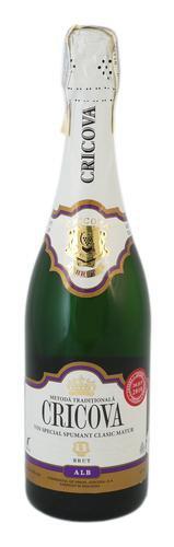 Шампанское Молдавии Белое Брют ТМ Cricova
