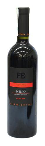 Вино Украины Красное Сухое ТМ Французький бульвар