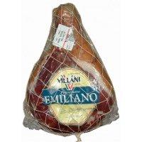 Мясной деликатес сыровяленый ТМ Villani - Шинка Прошутто Эмилиано (Prosciutto Emiliano)