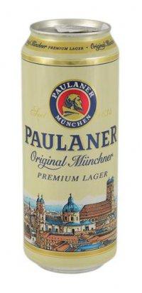 Пиво Светлое ТМ Paulaner