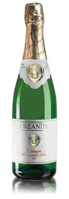 Шампанское Украины Белое Брют ТМ Ореанда