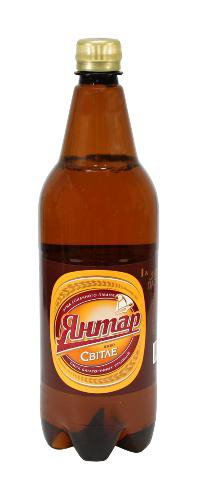 Пиво Светлое ТМ Янтар