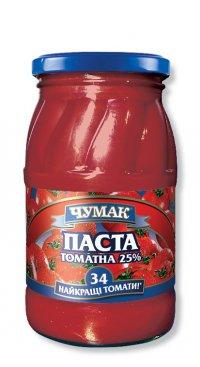 Томатная паста ТМ Чумак