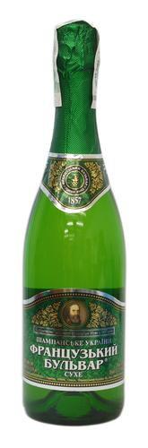 Шампанское Украины Белое Сухое ТМ Французький бульвар