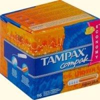 Тампоны 4 крапинок ТМ Tampax