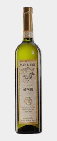 Вино Грузии Белое Полусухое ТМ Kartuli Vazi