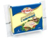 Сыр плавленный тостовый ТМ Président