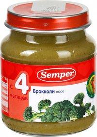 Овощное пюре Для детей ТМ Semper