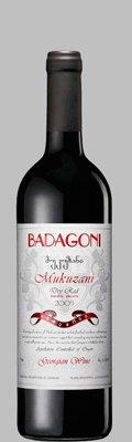 Вино Грузии Красное Сухое ТМ Badagoni