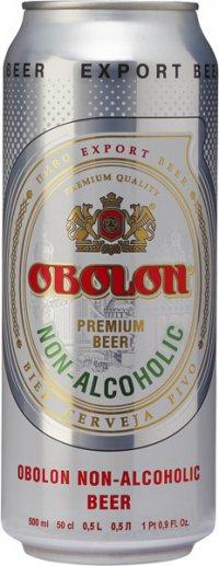 Пиво Без алкогольное ТМ Оболонь
