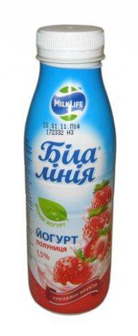 Йогурт питьевой ТМ Біла лінія