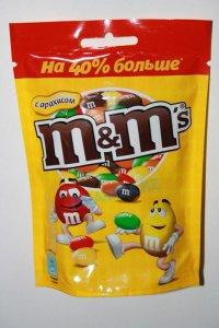 Драже ТМ M&M