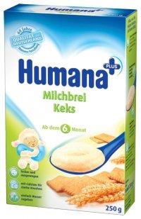 Молочная каша Для детей С печеньем ТМ Humana