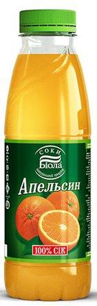 Сок Апельсин ТМ Біола