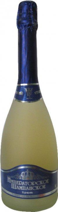 Шампанское Молдавии Белое Брют ТМ Basvinex