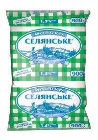 Молоко длительного хранения ТМ Селянське Люстдорф