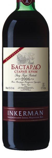 Вино Украины Красное Сухое ТМ Inkerman