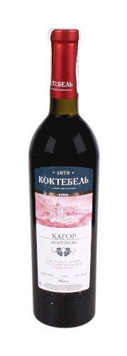 Вино Украины Красное Сухое ТМ Коктебель