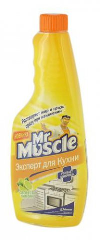 Моющее средство для кухни ТМ Mr.Muscle