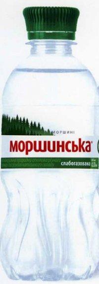 Вода Минеральная Слабогазированная ТМ Моршинська