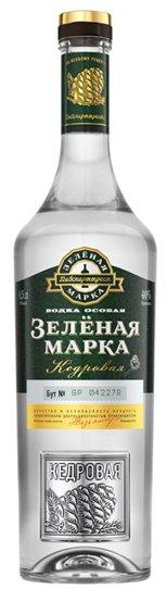 Водка Россия ТМ Зелёна марка