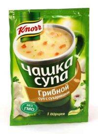 Концентраты первых блюд Суп быстрого приготовления ТМ Knorr